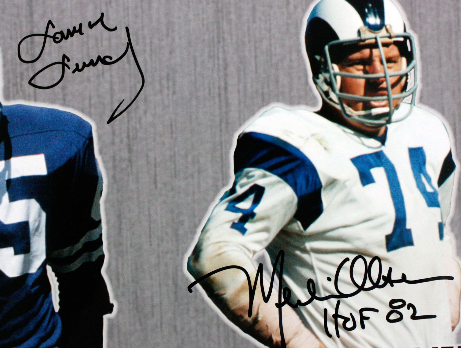 0489618ff Lot Detail - Lot of 2 Fearsome Four 16x20 Photo Autographed by ...