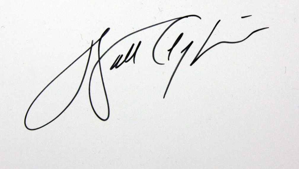 Autographed 2 - Walter Detail Artwork Payton Lot Of