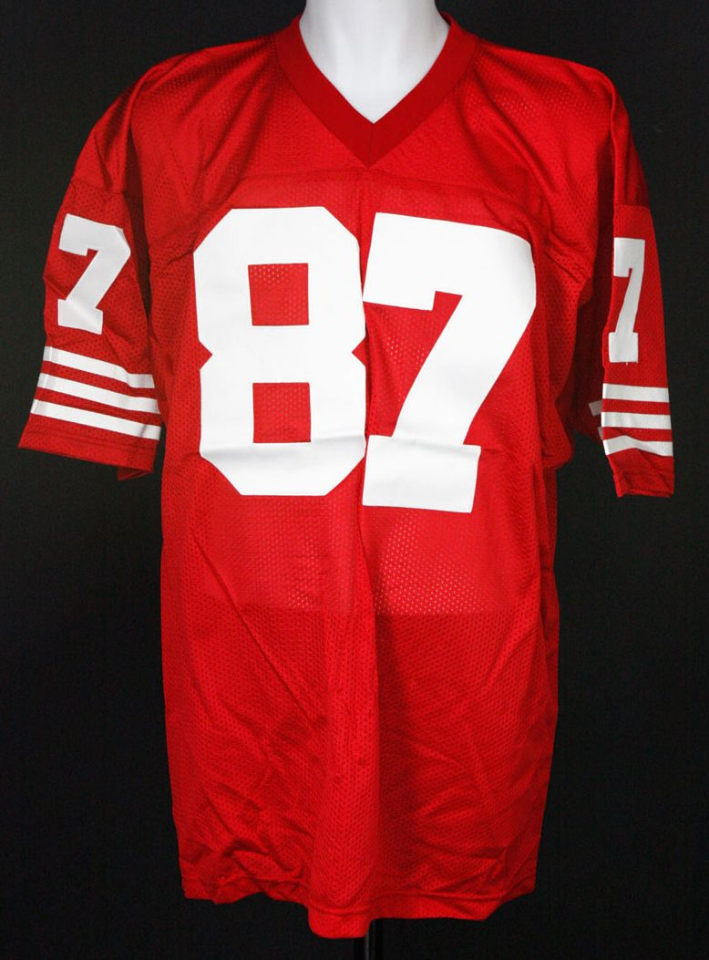 2a6169ff271 Lot Detail - Dwight Clark Autographed SF 49 ers Jersey
