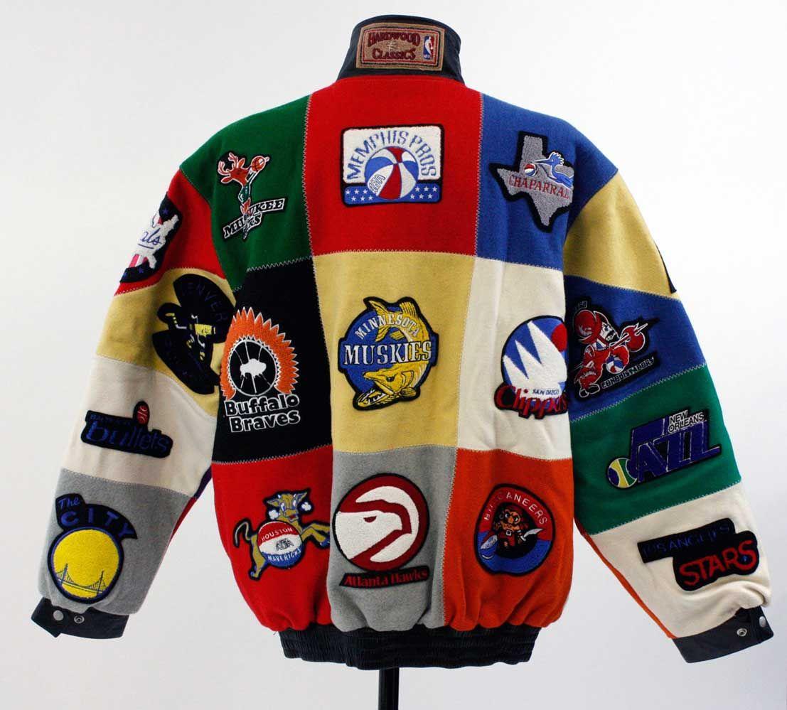 Lot Detail - Unique Jeff Hamilton ABA & NBA Bomber Jacket