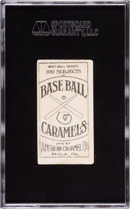 Lot Detail Shoeless Joe Jackson 1909 11 American Caramel