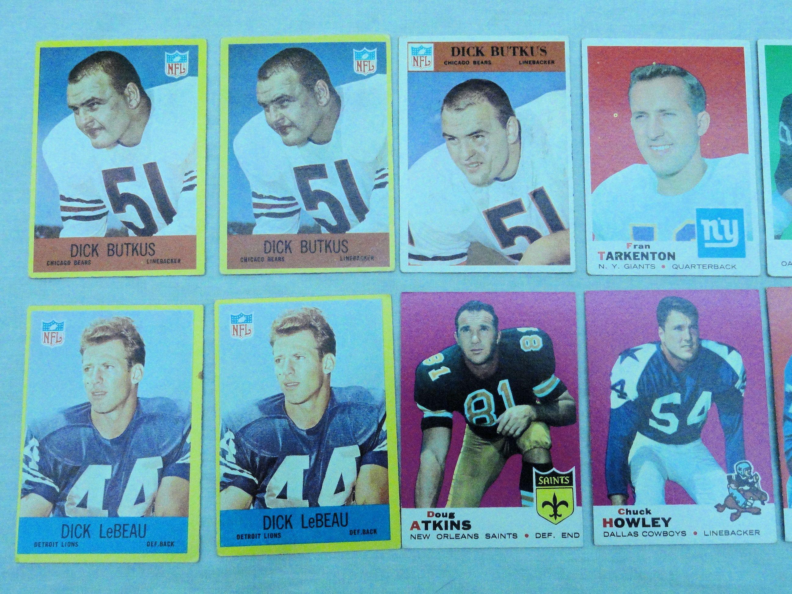 Dick butkus rookie card