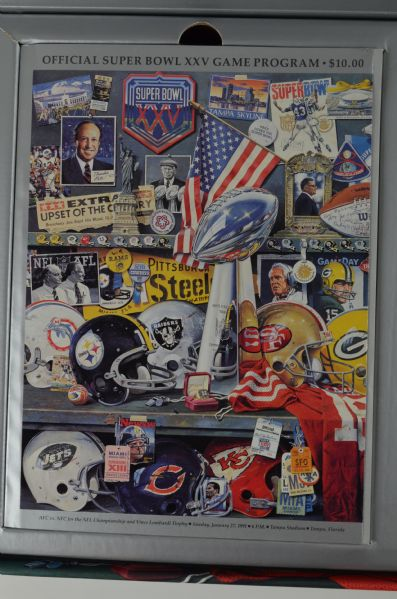 Super Bowl XXV 25th Anniversary Commemorative Collection