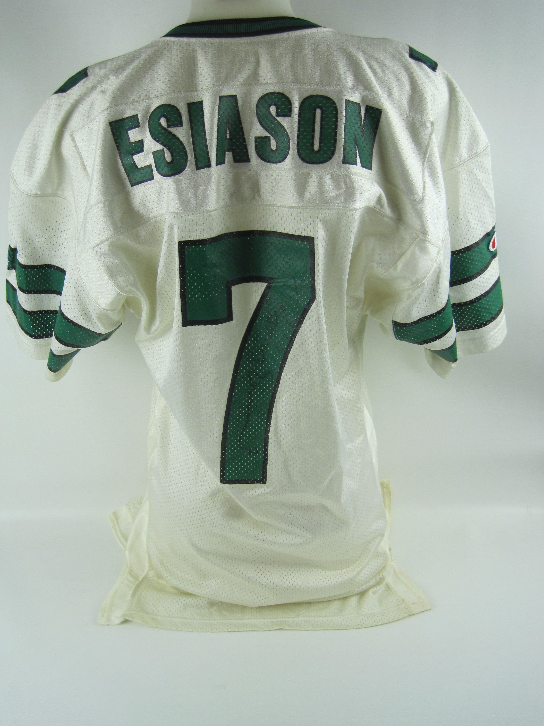 brand new af5a4 ef3d2 Lot Detail - Boomer Esiason New York Jets Autographed Jersey