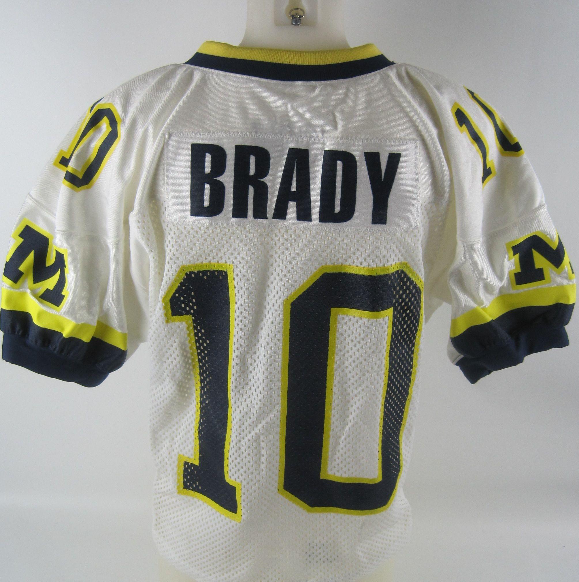 tom brady's jersey number at michigan