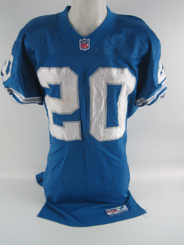 ce3552396a9 Barry Sanders 1998 Detroit Lions Professional Model Jersey w Heavy Use ...