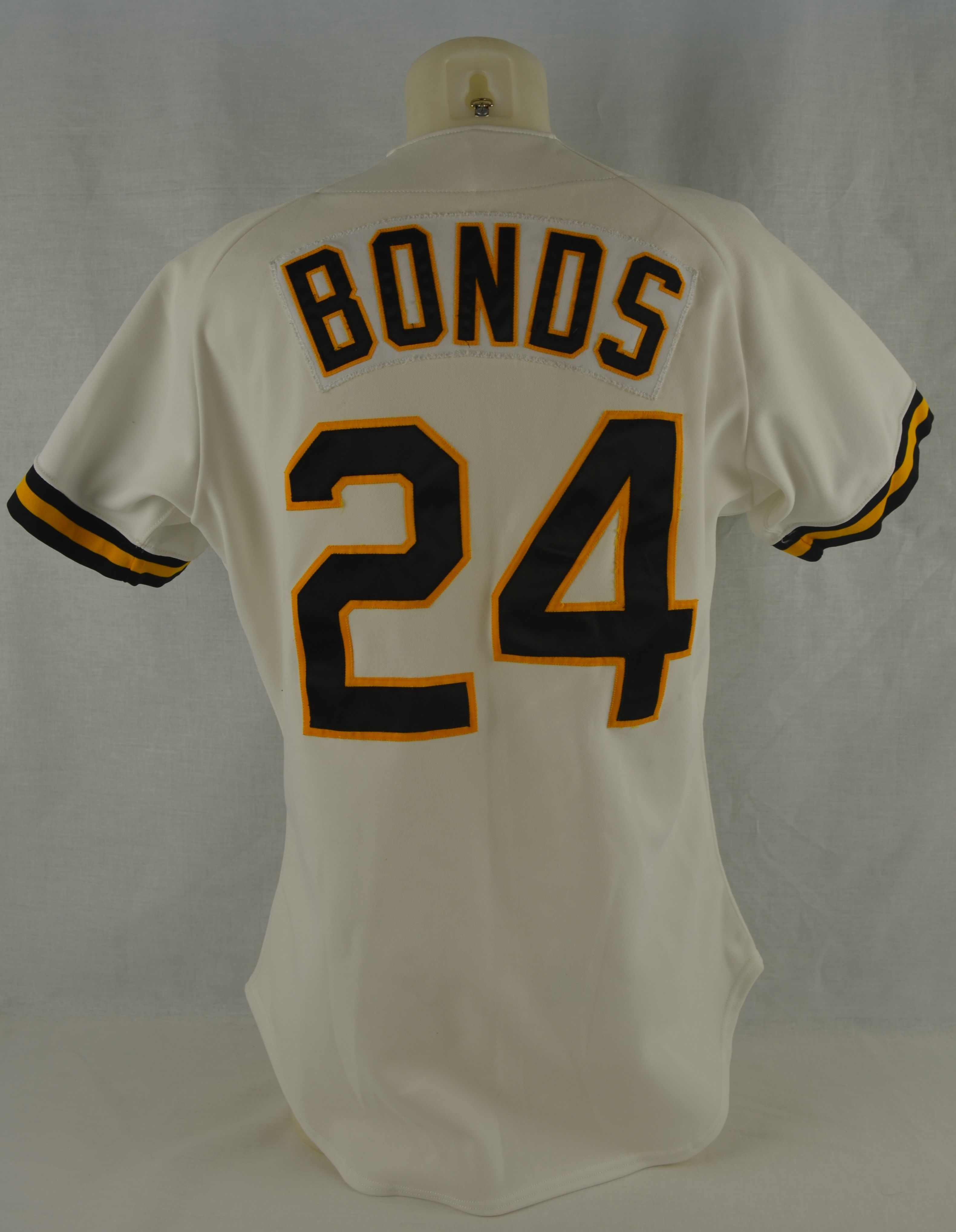 official photos c5db6 10985 Lot Detail - Barry Bonds 1992 Pittsburgh Pirates ...