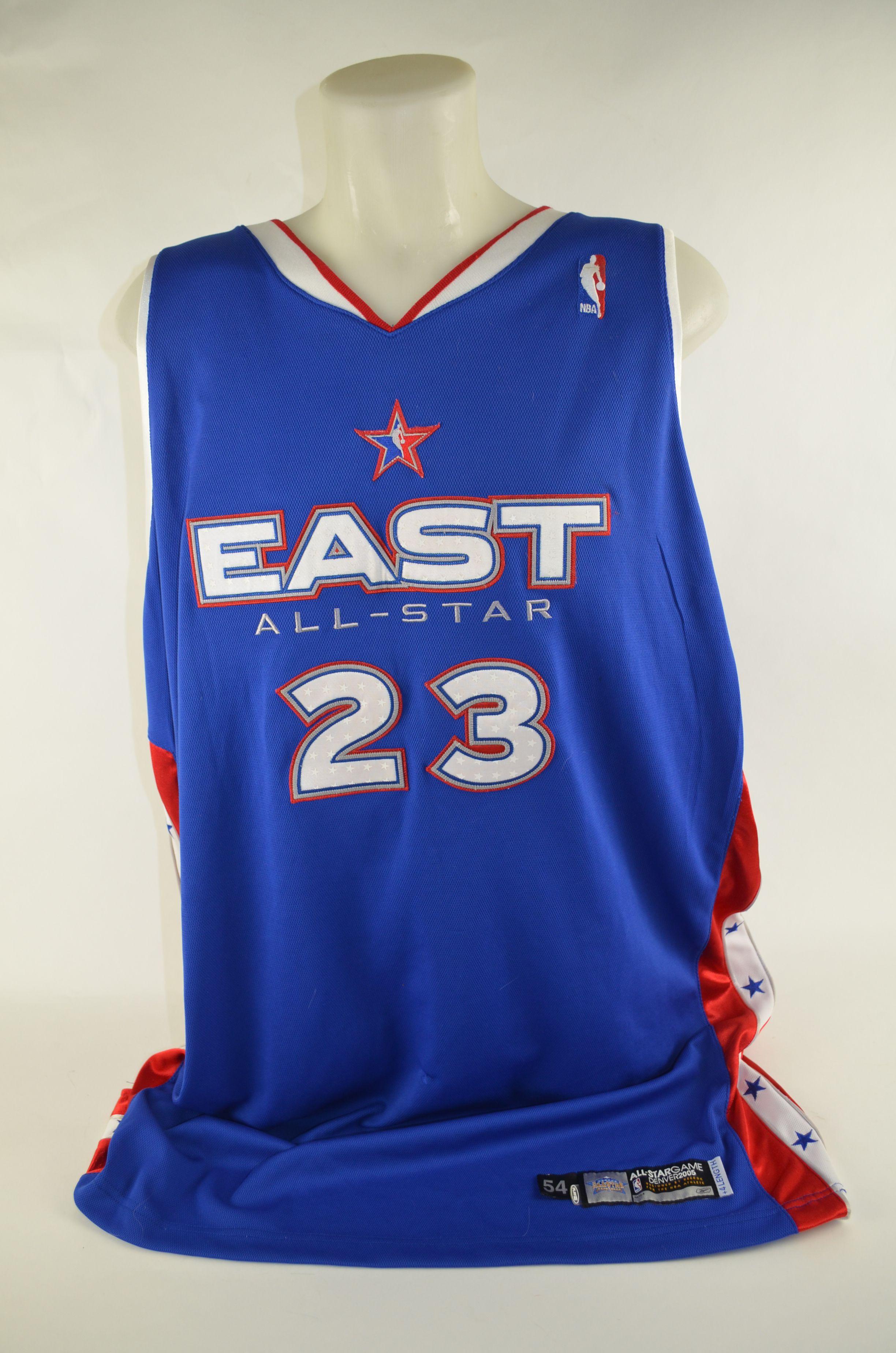 quality design 51b7d 92ba4 Lot Detail - LeBron James 2004-05 Professional Model First ...