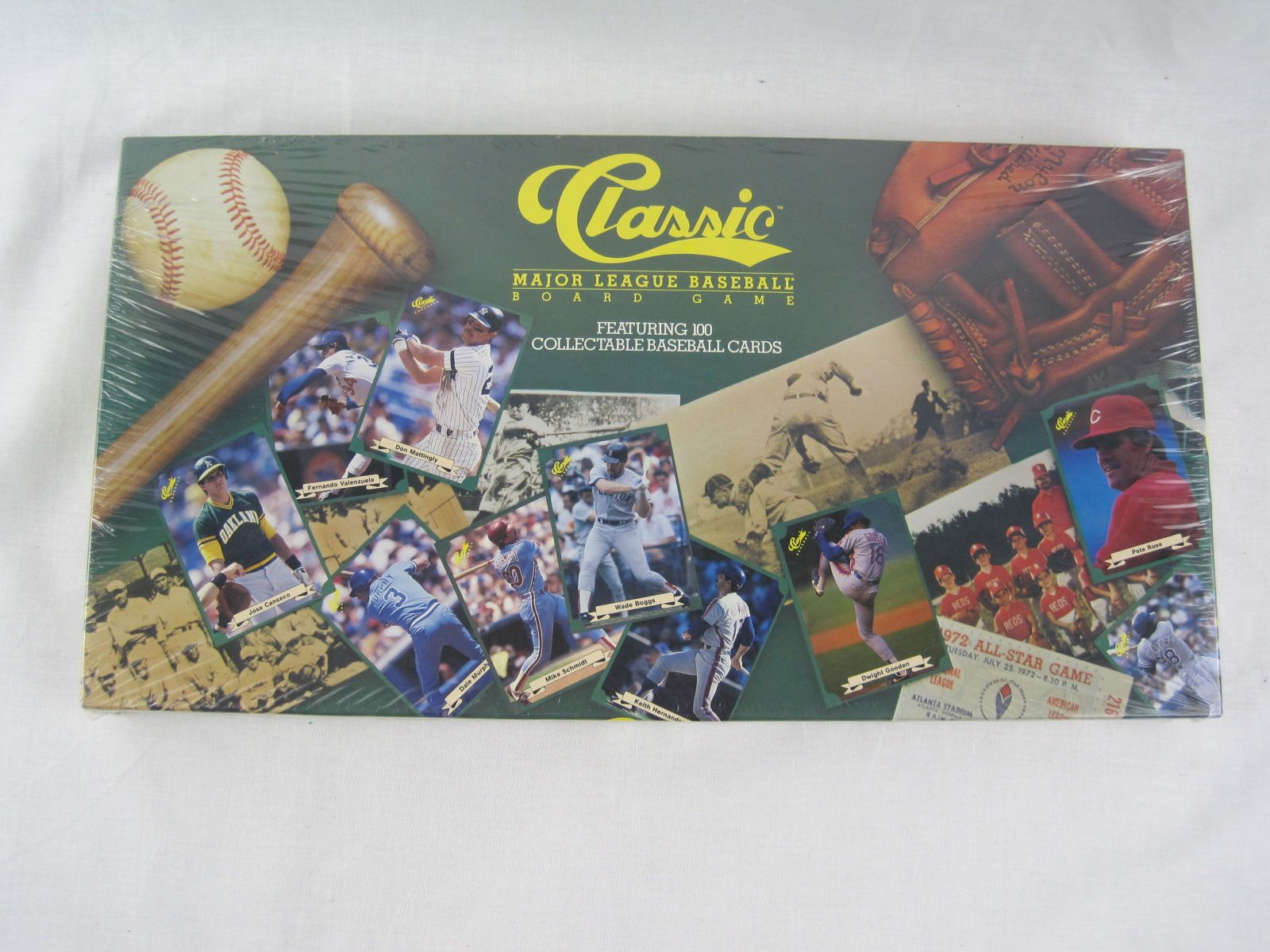 Lot Detail 1987 Classic Board Game W100 Card Set