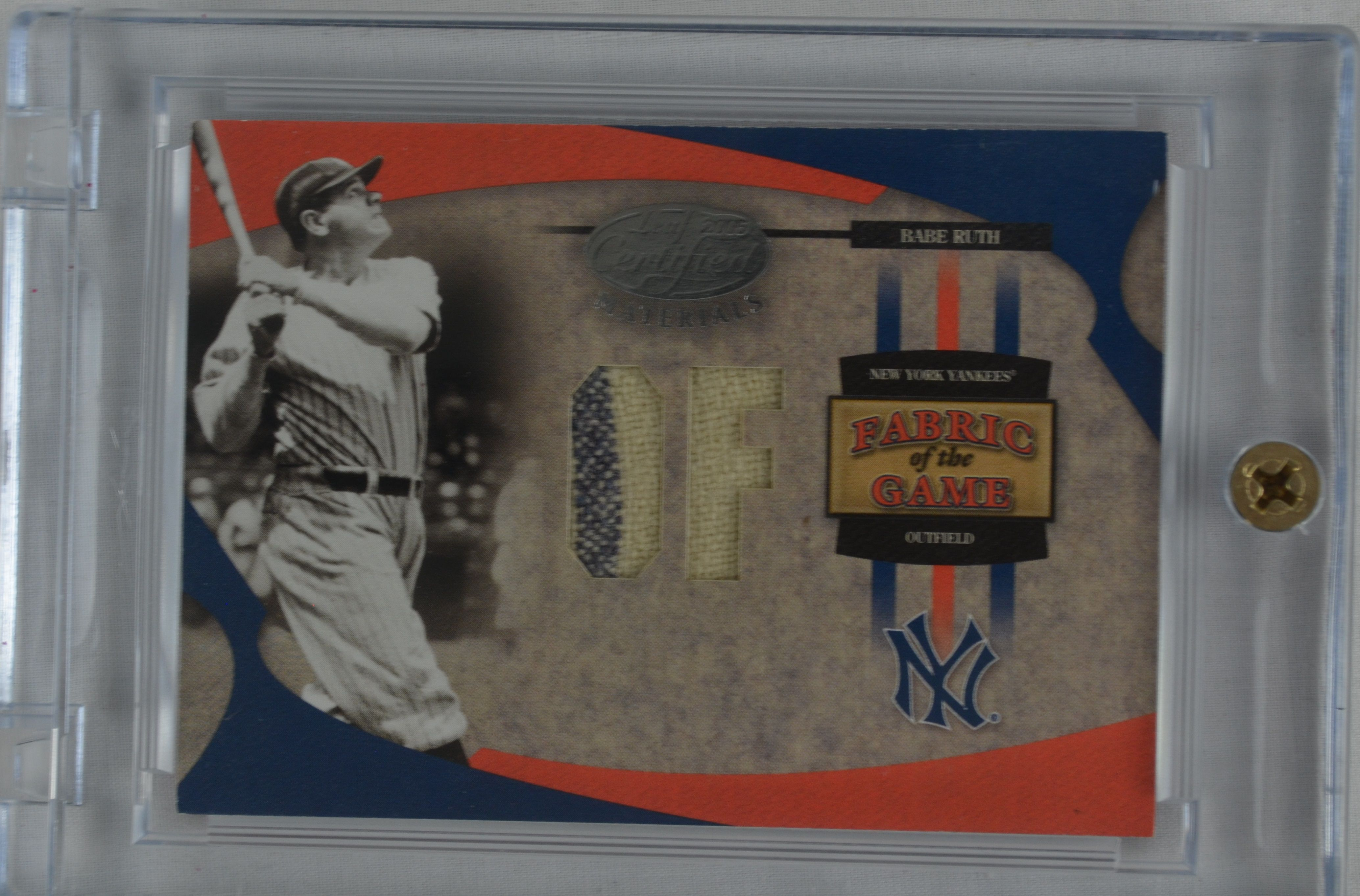 new concept 2774e 7401c Lot Detail - Babe Ruth 2005 Leaf Certified Materials Game ...