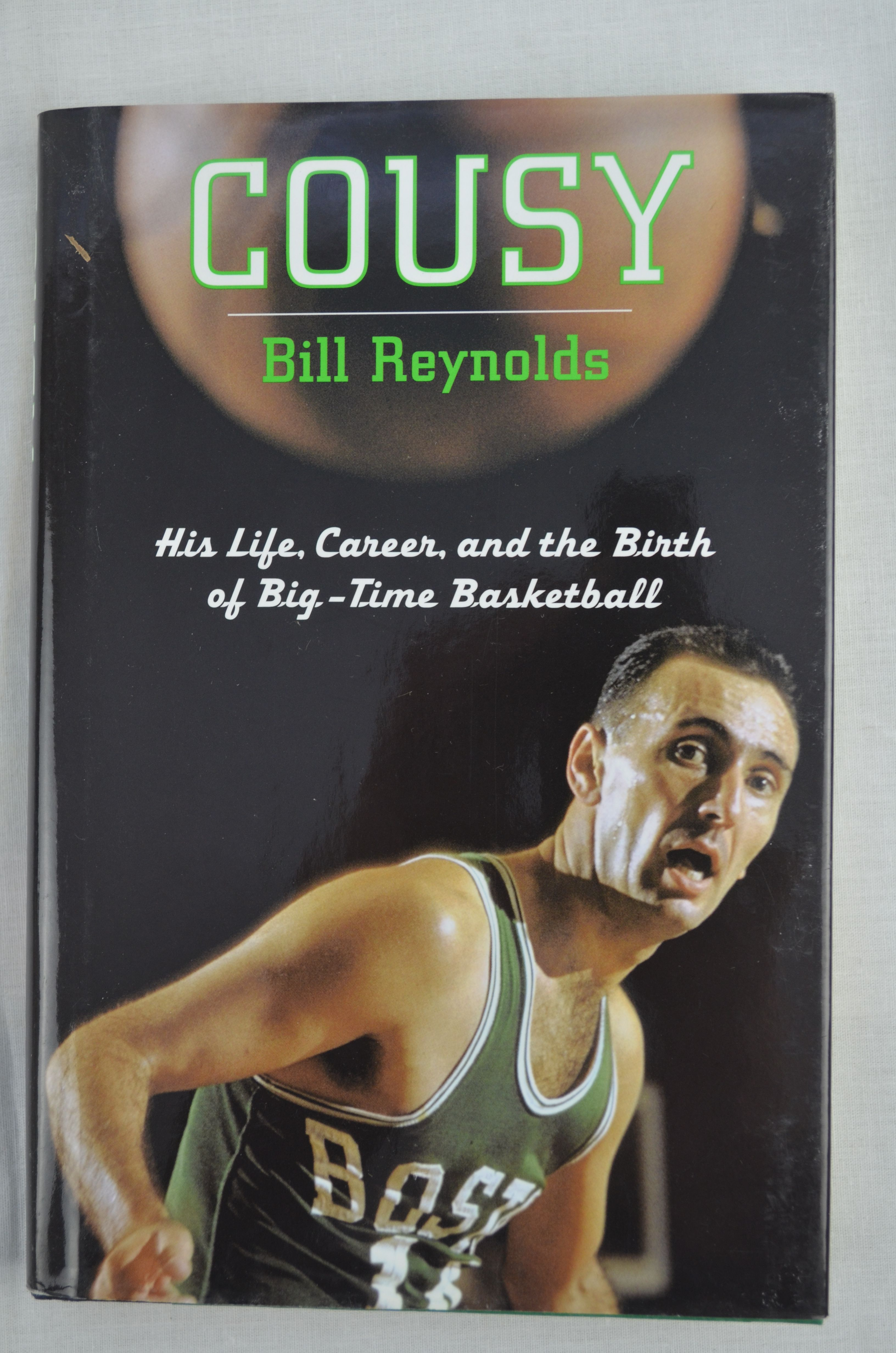 "Lot Detail Bob Cousy Signed Copy of the Book ""Cousy"""