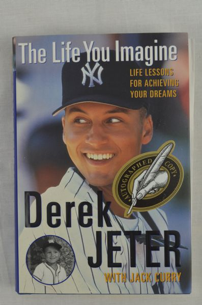 derek jeter the life you imagine essay Yankees fan, 9, says bombers are in wrote in his award-winning essay for the daily news during my 9 years of life derek jeter.
