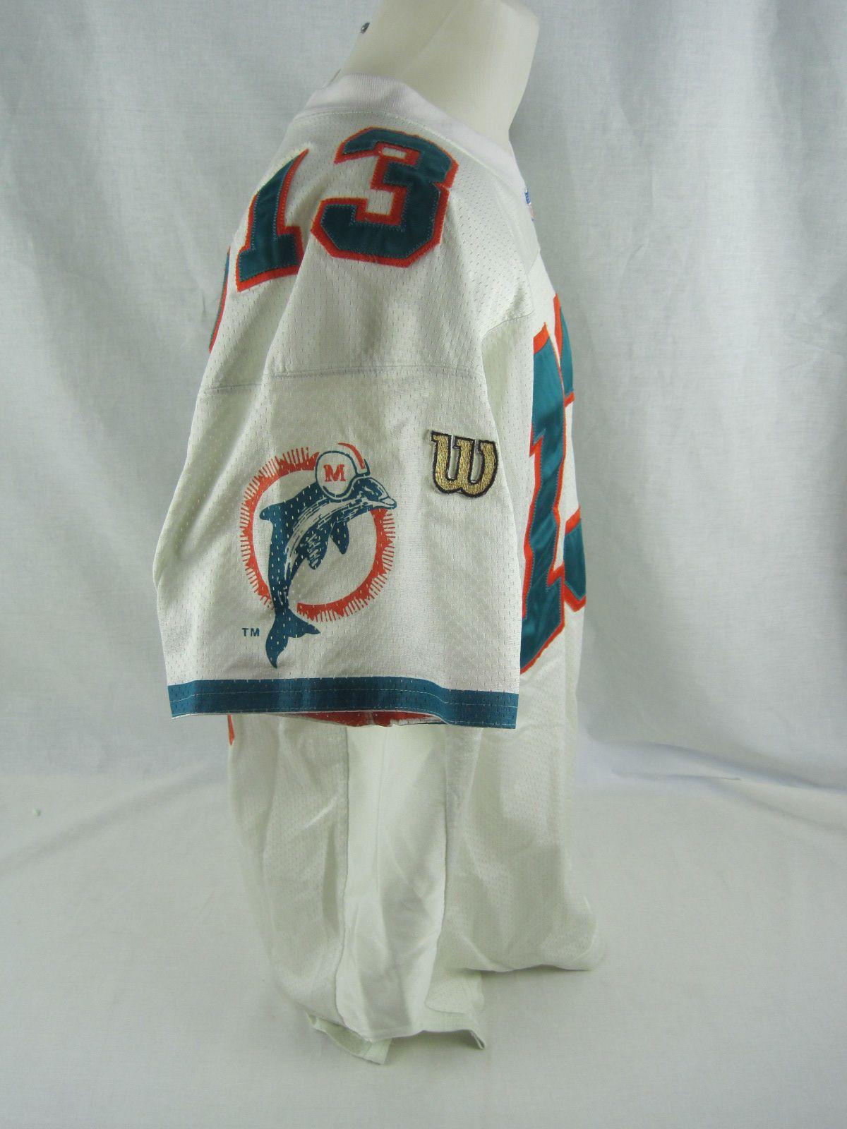 super popular 092de d9246 Lot Detail - Dan Marino 1996 Miami Dolphins Professional ...
