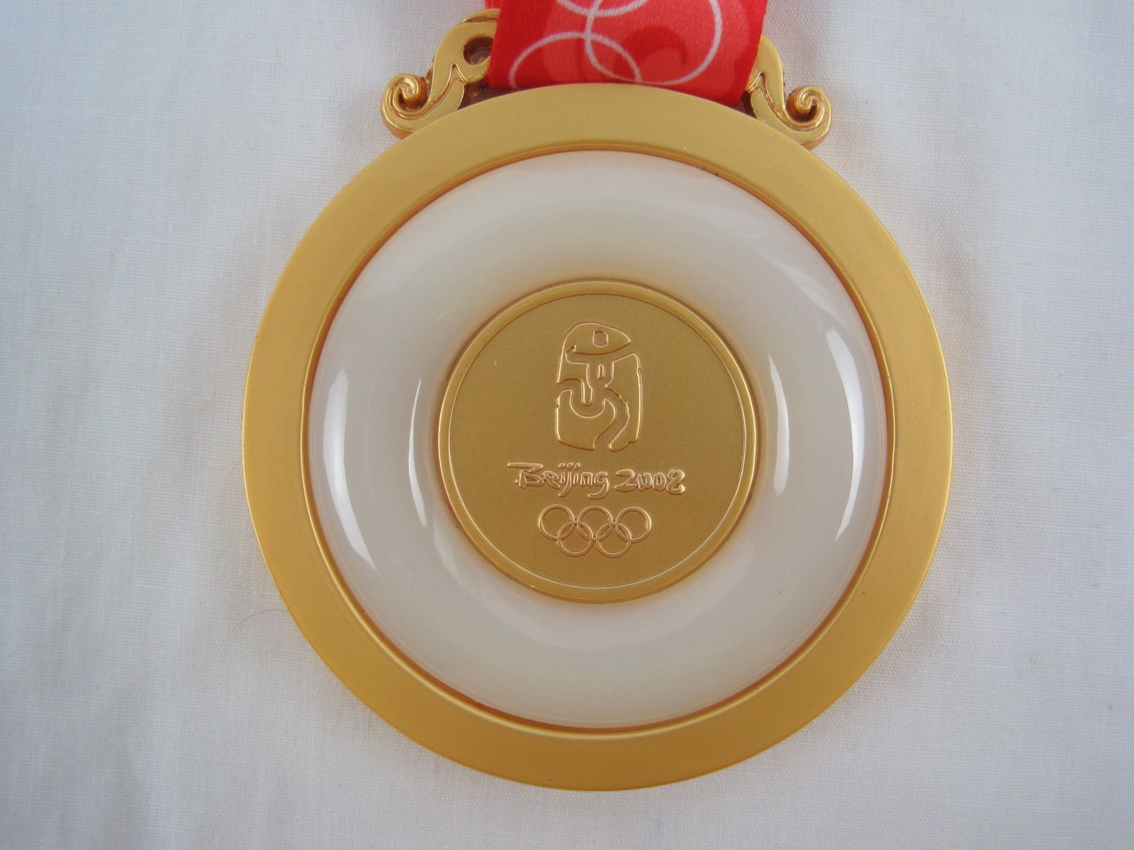 lot detail 2008 beijing olympic gold medal