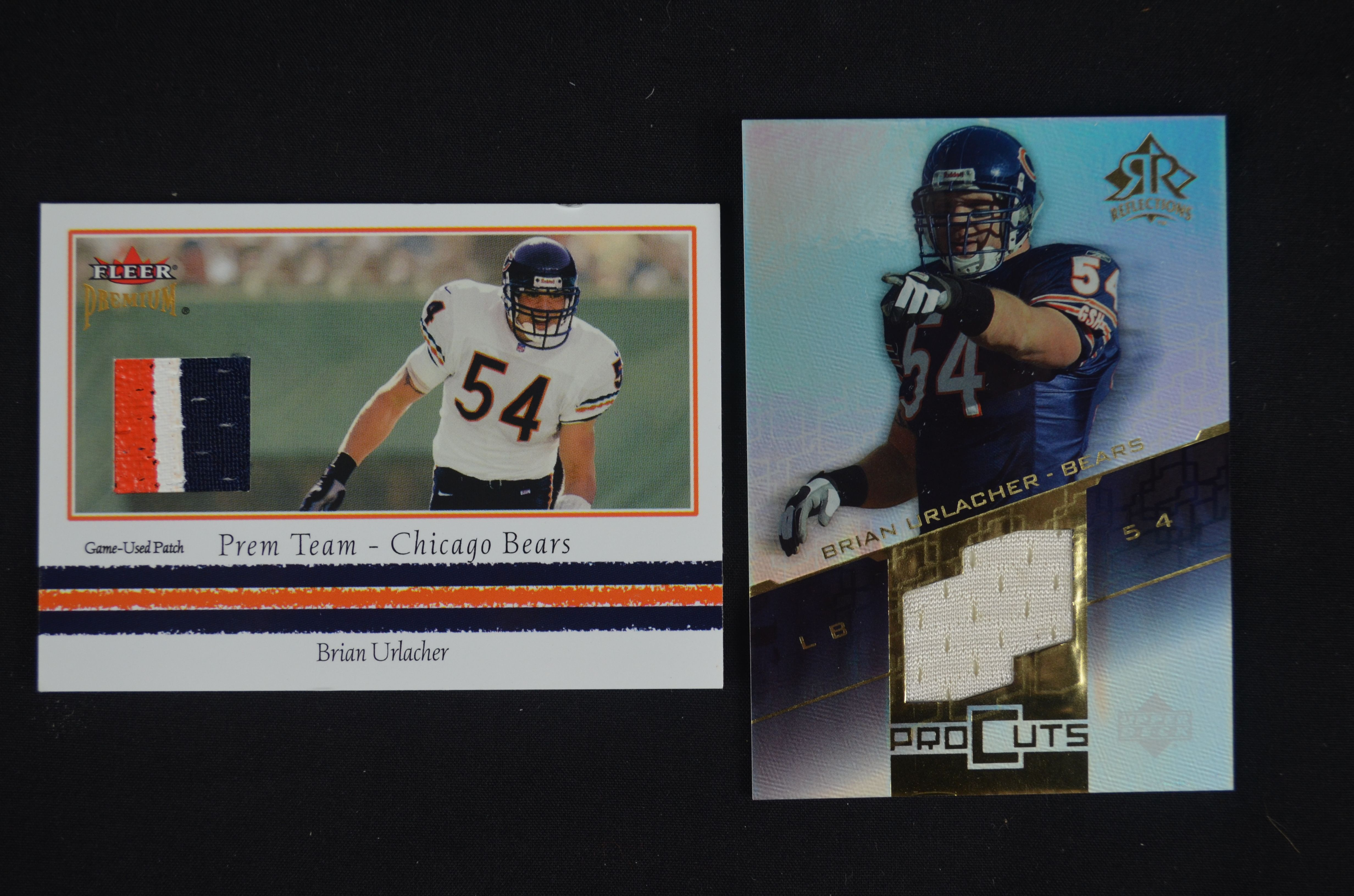 cbd0cb2b848 Lot Detail - Brian Urlacher Collection of Game Used Jersey Cards