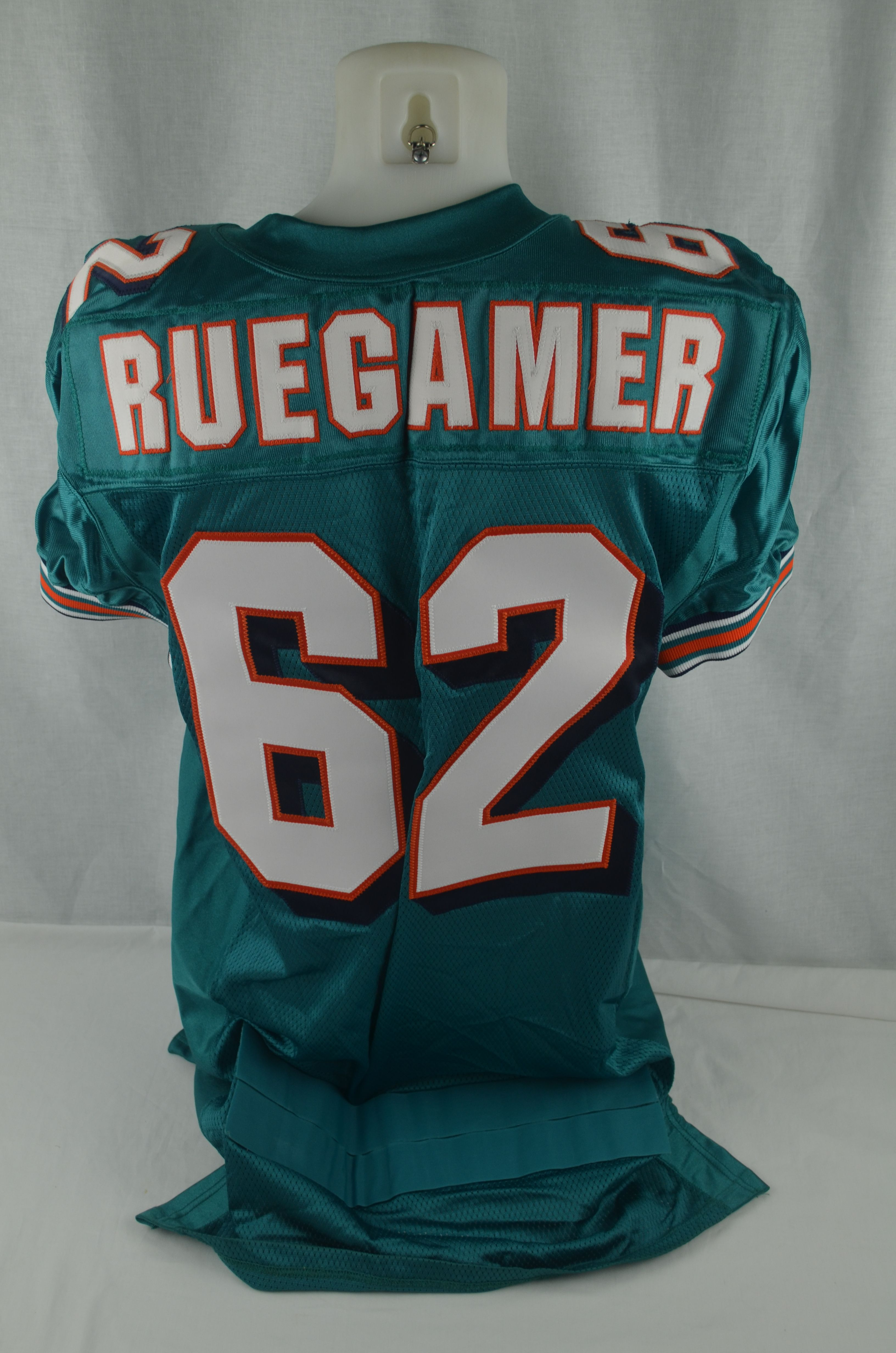 best sneakers cd682 294ce Lot Detail - Grey Ruegamer 1999 Miami Dolphins Game Issued ...