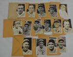 Rare Minneapolis Millers 1932 Worch Cigar Card Set w/Original Mailing Envelopes