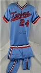 Tom Brunansky 1986 Minnesota Twins Professional Model Uniform w/Heavy Use