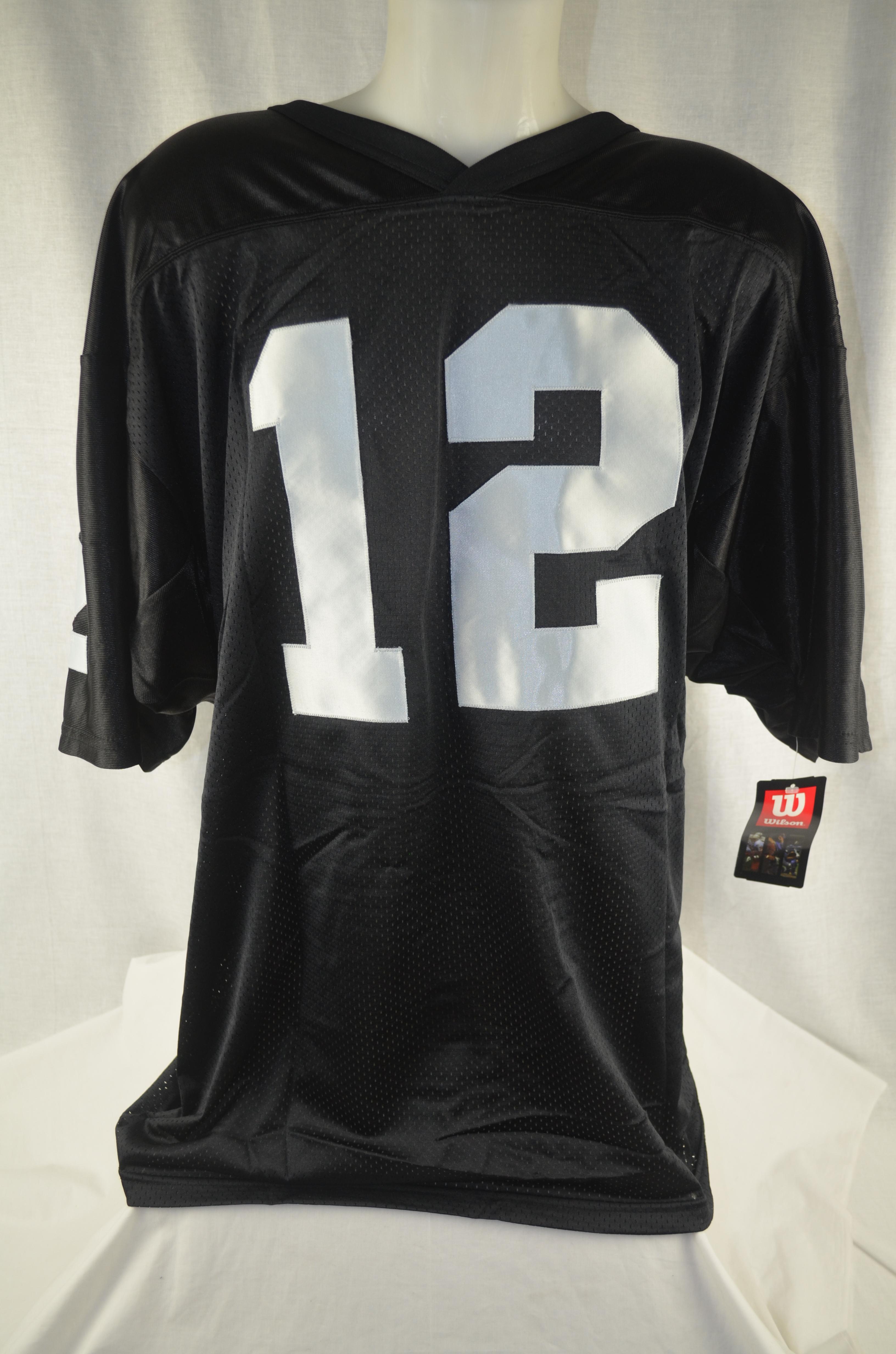 hot sales 3e928 666a1 Lot Detail - Ken Stabler Autographed Oakland Raiders Jersey