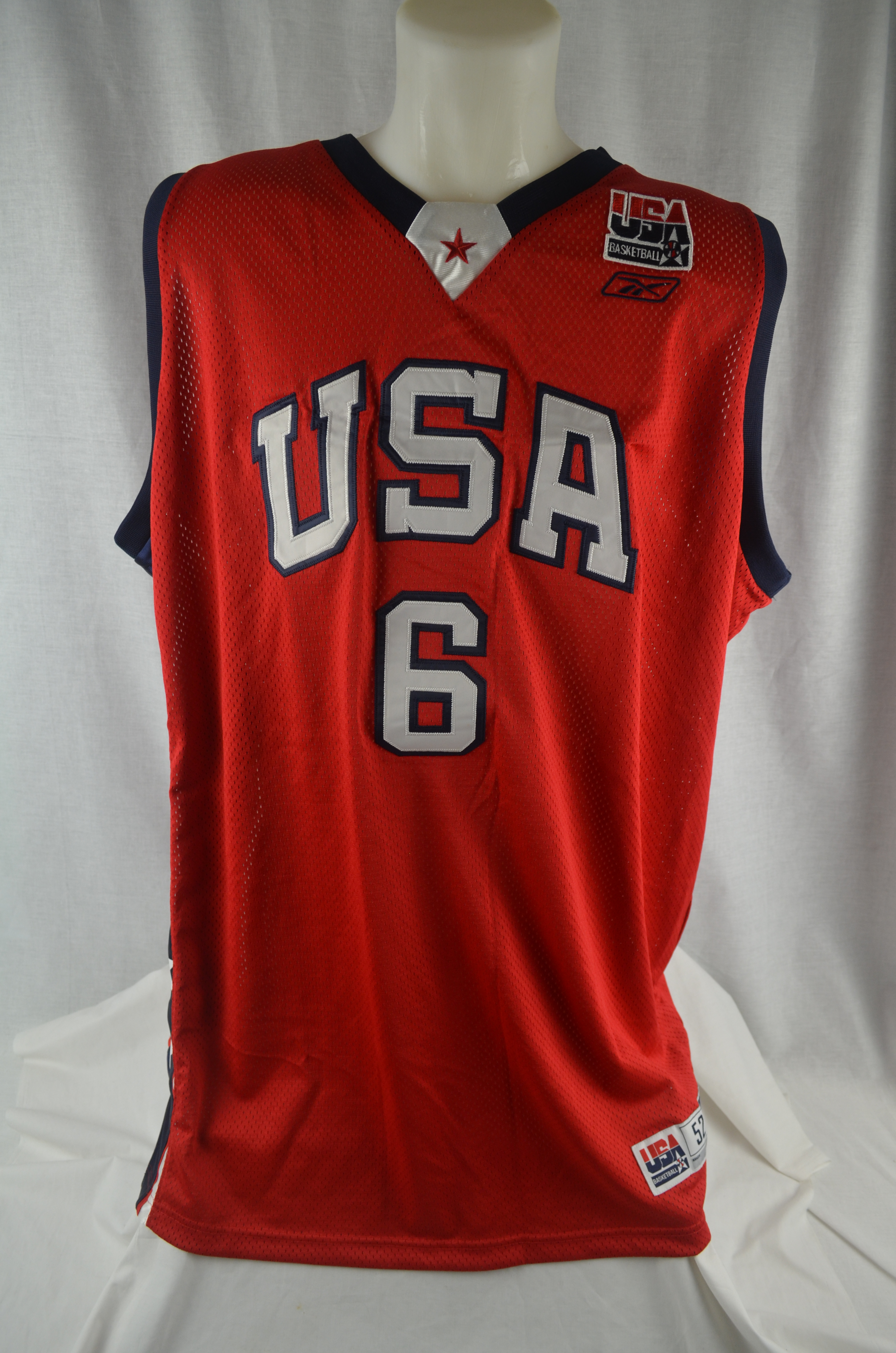 Lot Detail - Tracy McGrady Team USA Authentic Reebok Basketball Jersey de6dfe9a9