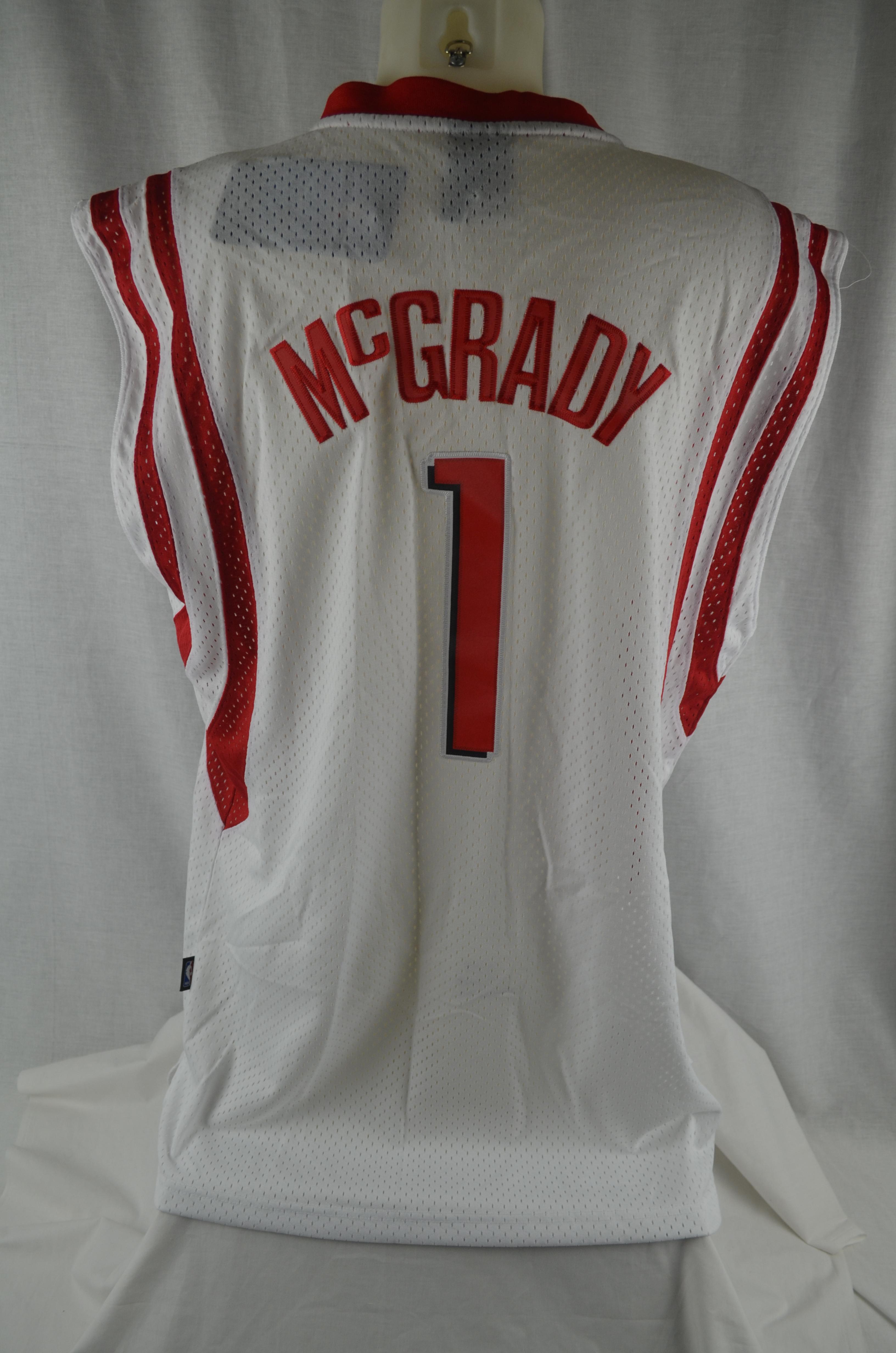new product 6279c f10bc Lot Detail - Tracy McGrady Lot of 3 Houston Rockets ...