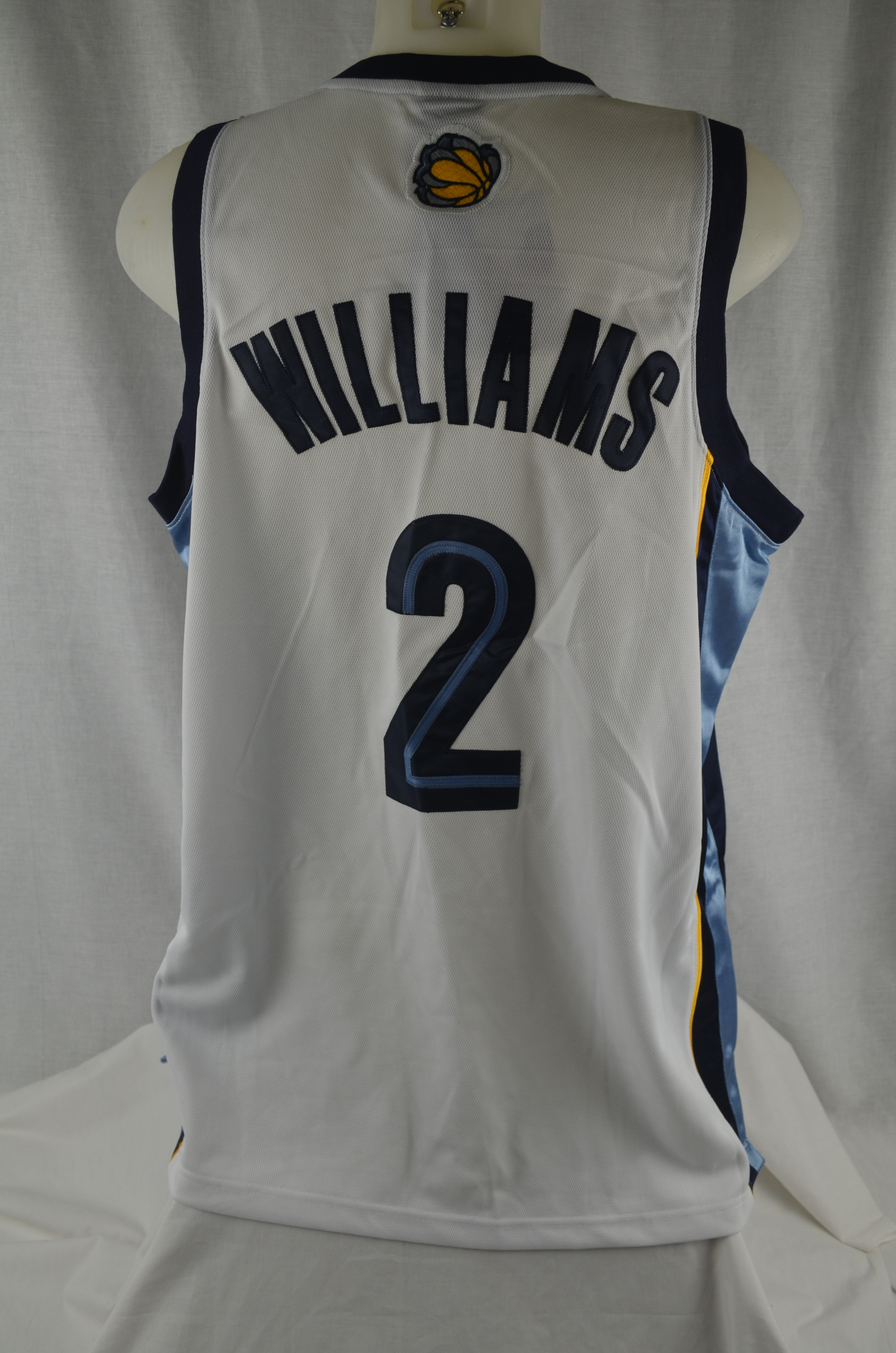 2143092ad Jason Williams Memphis Grizzlies Authentic Reebok Basketball Jersey ...