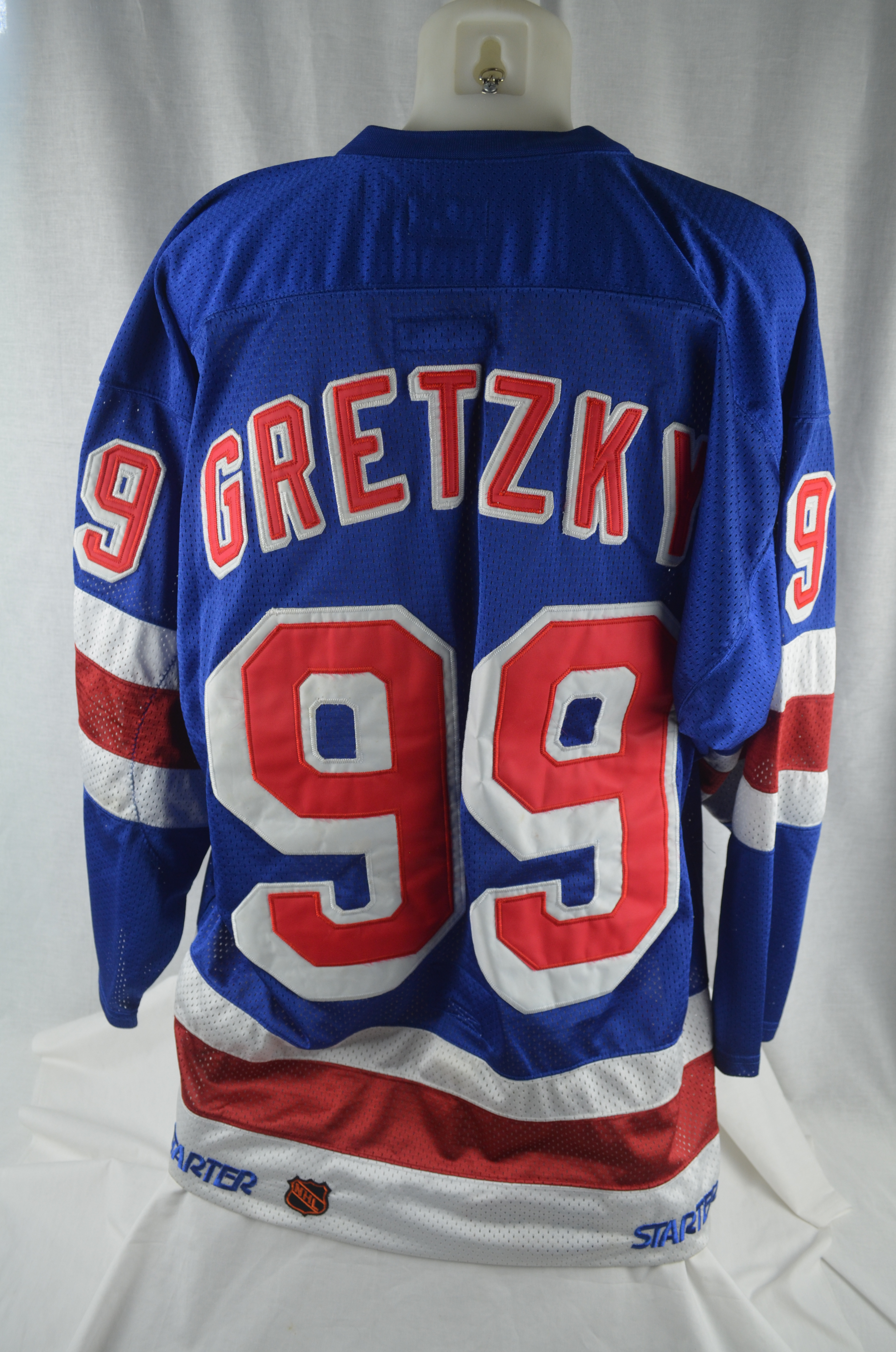 timeless design 0ad08 58043 Lot Detail - Wayne Gretzky New York Rangers Authentic ...