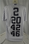 "New York Yankees ""Core Four"" Autographed Limited Edition Jersey #14/27"