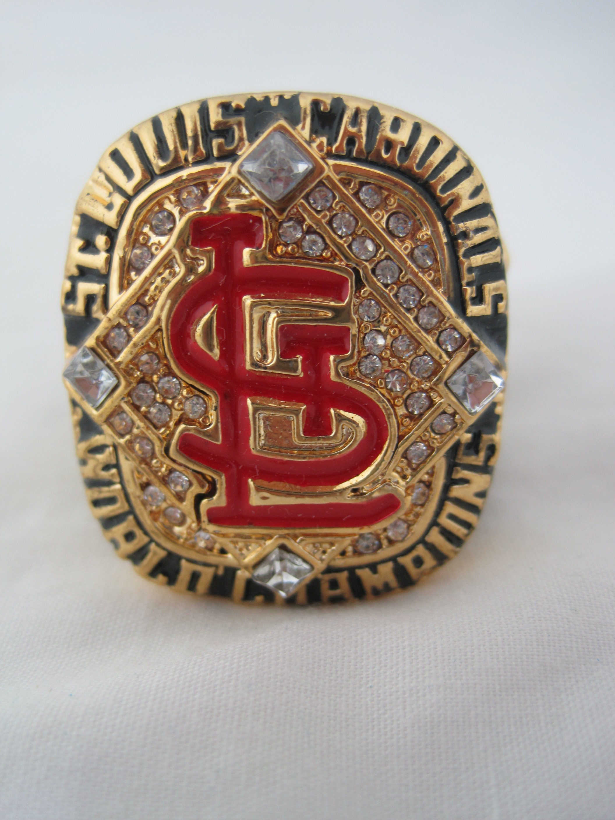 Bob Gibson St Louis Cardinals 2006 World Series Champions Replica Ring