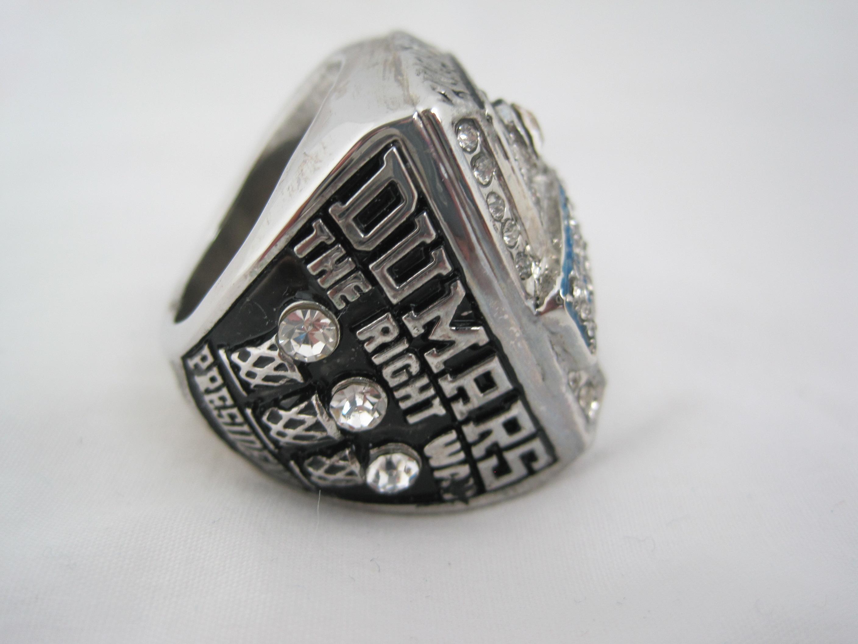 Lot Detail Joe Dumars Detroit Pistons 2004 NBA Finals Replica Ring