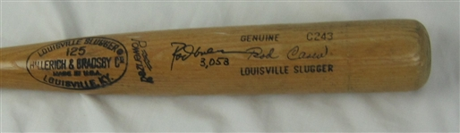 Rod Carew 1977-79 Minnesota Twins Professional Model Bat w/Heavy Use