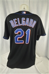 Carlos Delgado New York Mets Professional Model Jersey w/Light Use