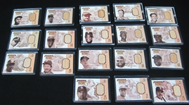 Upper Deck 1999 Piece of History 500 HR Club Collection of 18 Game Used Bat Cards