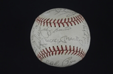 New York Yankees 1962 World Series Championship Team Signed Baseball w/28 Signatures
