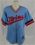 Kirby Puckett Autographed & Inscribed Limited Edition Twins Jersey