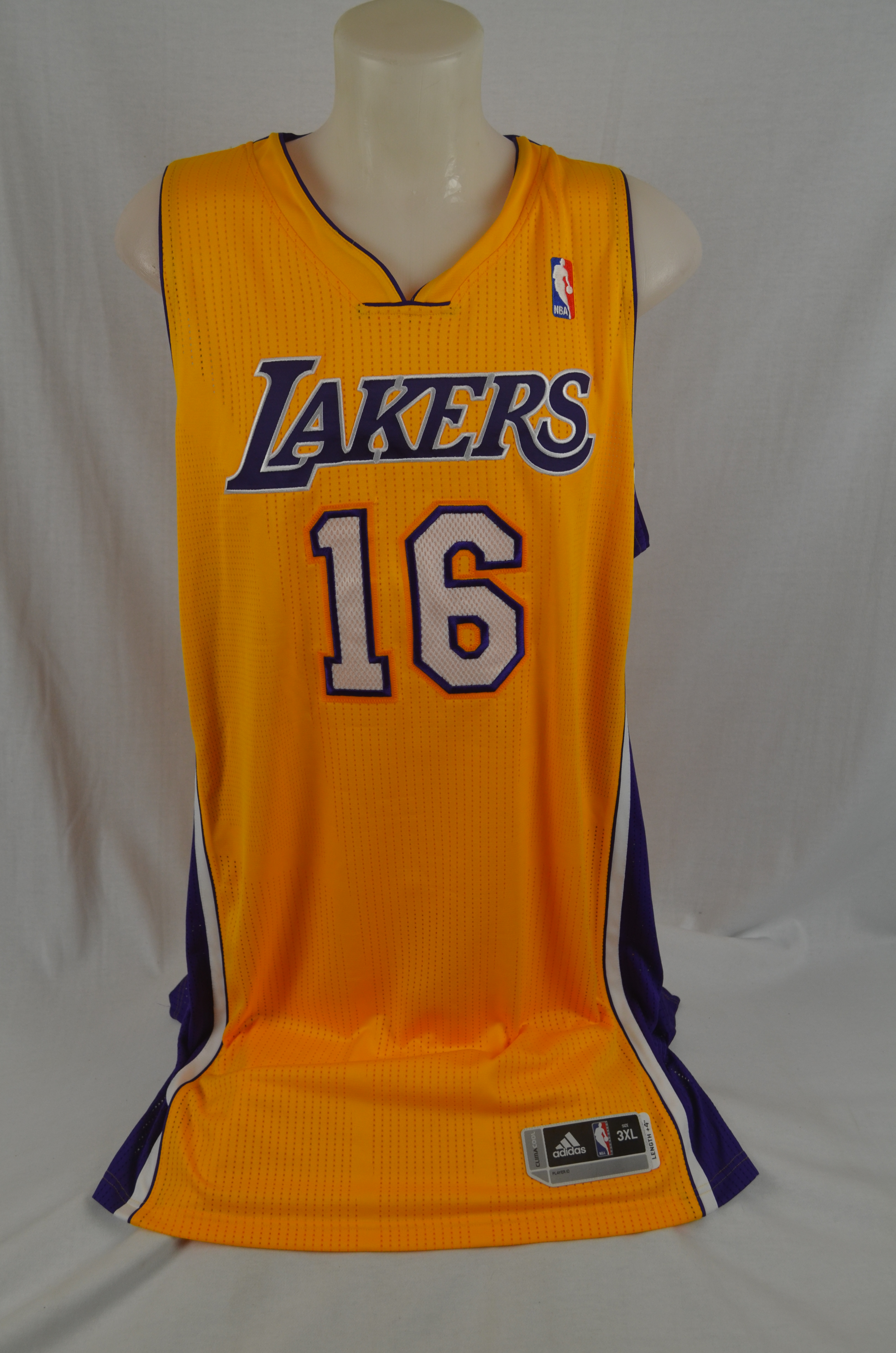 check out 6b194 205a7 Lot Detail - Pau Gasol autographed Los Angeles Lakers Jersey