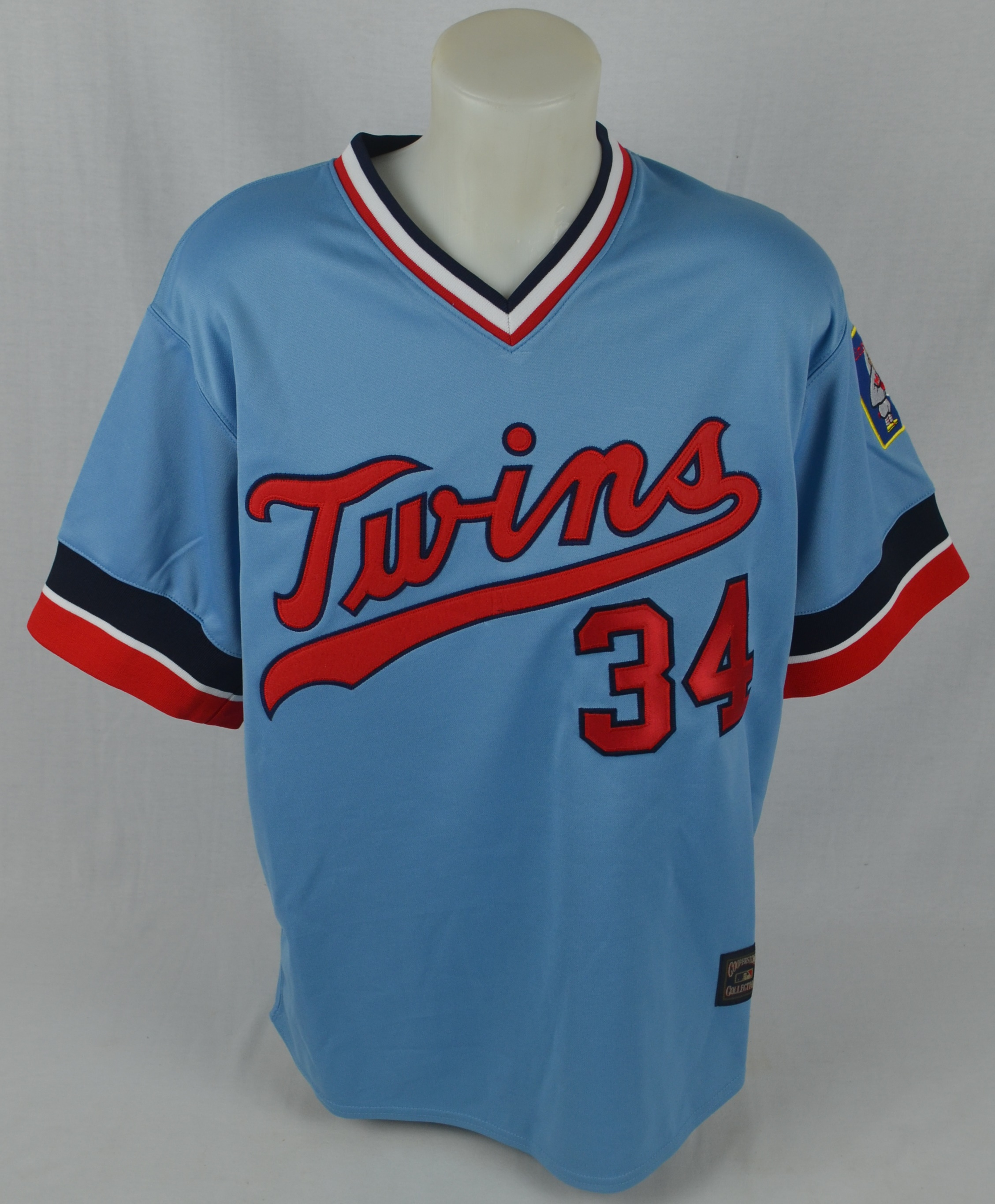 aa7c8cb0764 Lot Detail - Kirby Puckett Autographed 1984 Rookie Throwback Jersey