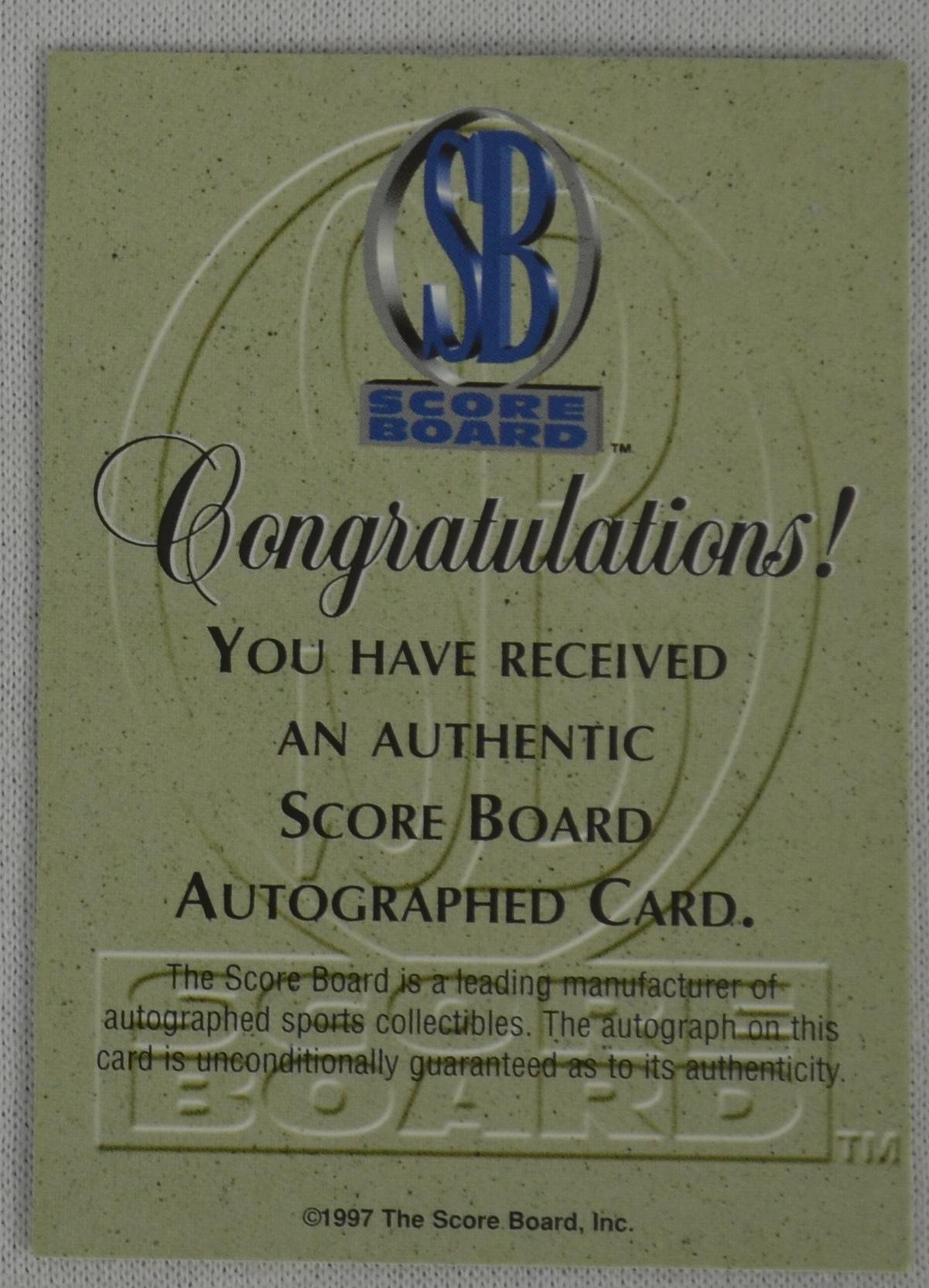 Lot Detail Kobe Bryant 1997 Autographed Basketball Card PSA