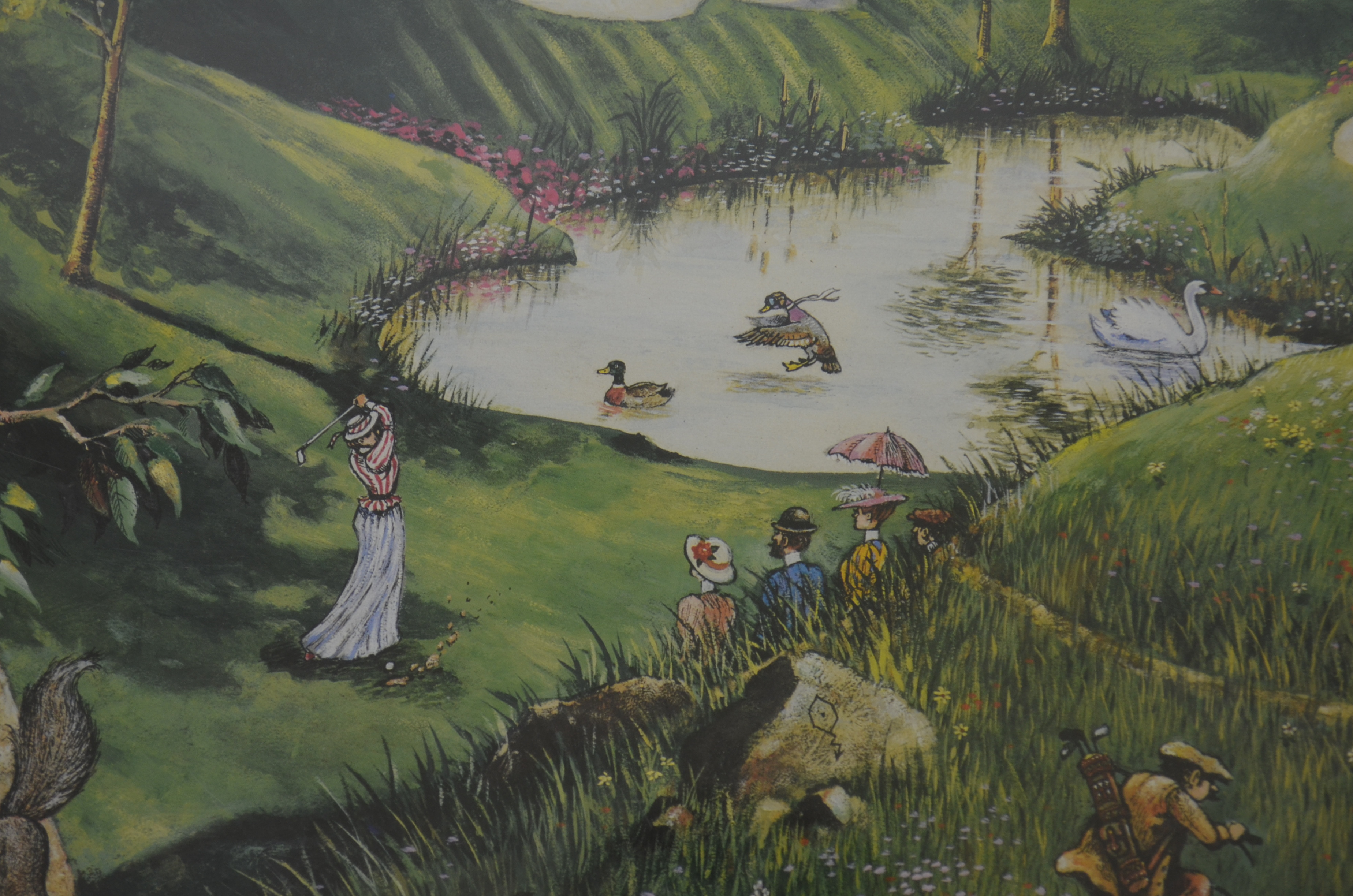 Lot Detail - Gary Patterson Limited Edition Signed Golf Lithograph