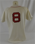 Carl Yastrzemski 1983 Boston Red Sox Professional Model Jersey w/Provenance