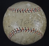 New York Yankees 1932 World Series Championship Team Signed Baseball w/Ruth & Gehrig
