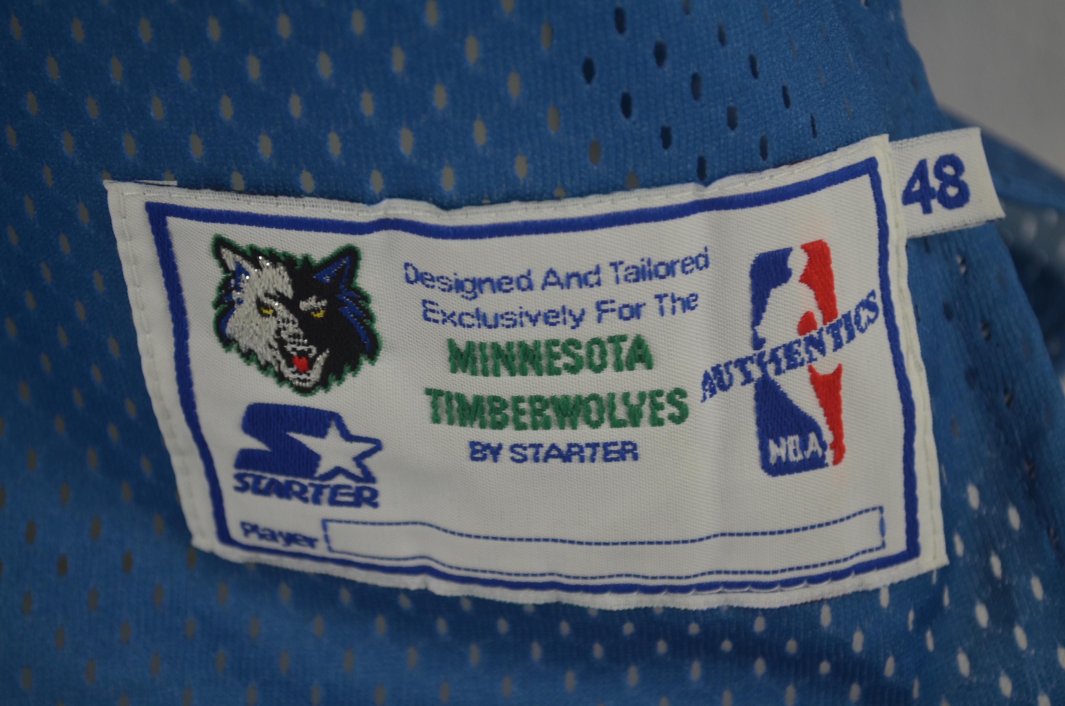 Lot Detail Tom Gugliotta Minnesota Timberwolves Jersey