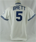 George Brett 1991 Kansas City Royals Professional Model Jersey w/Medium Use