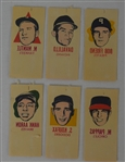 Rare 1964 Topps Photo Tattoos w/Mickey Mantle & Sandy Koufax