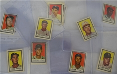 Vintage 1962 Topps Collection of 103 Stamps w/Mickey Mantle