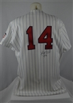 Kent Hrbek 1989 Minnesota Twins Professional Model Jersey w/Heavy Use