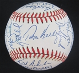 Minnesota Twins 1987 World Series Championship Team Signed Baseball w/36 Signatures