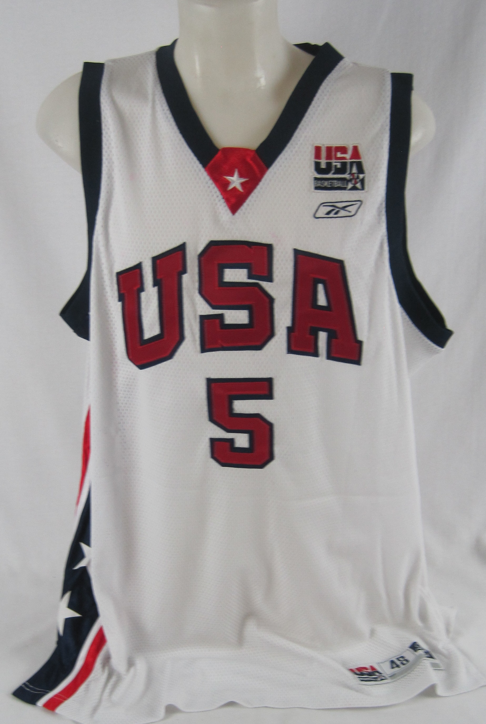 Jason Kidd Autographed Team USA Basketball Jersey . c5e620c7f