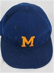 Hank Aaron 1975-76 Milwaukee Brewers Professional Model Hat w/Heavy Use