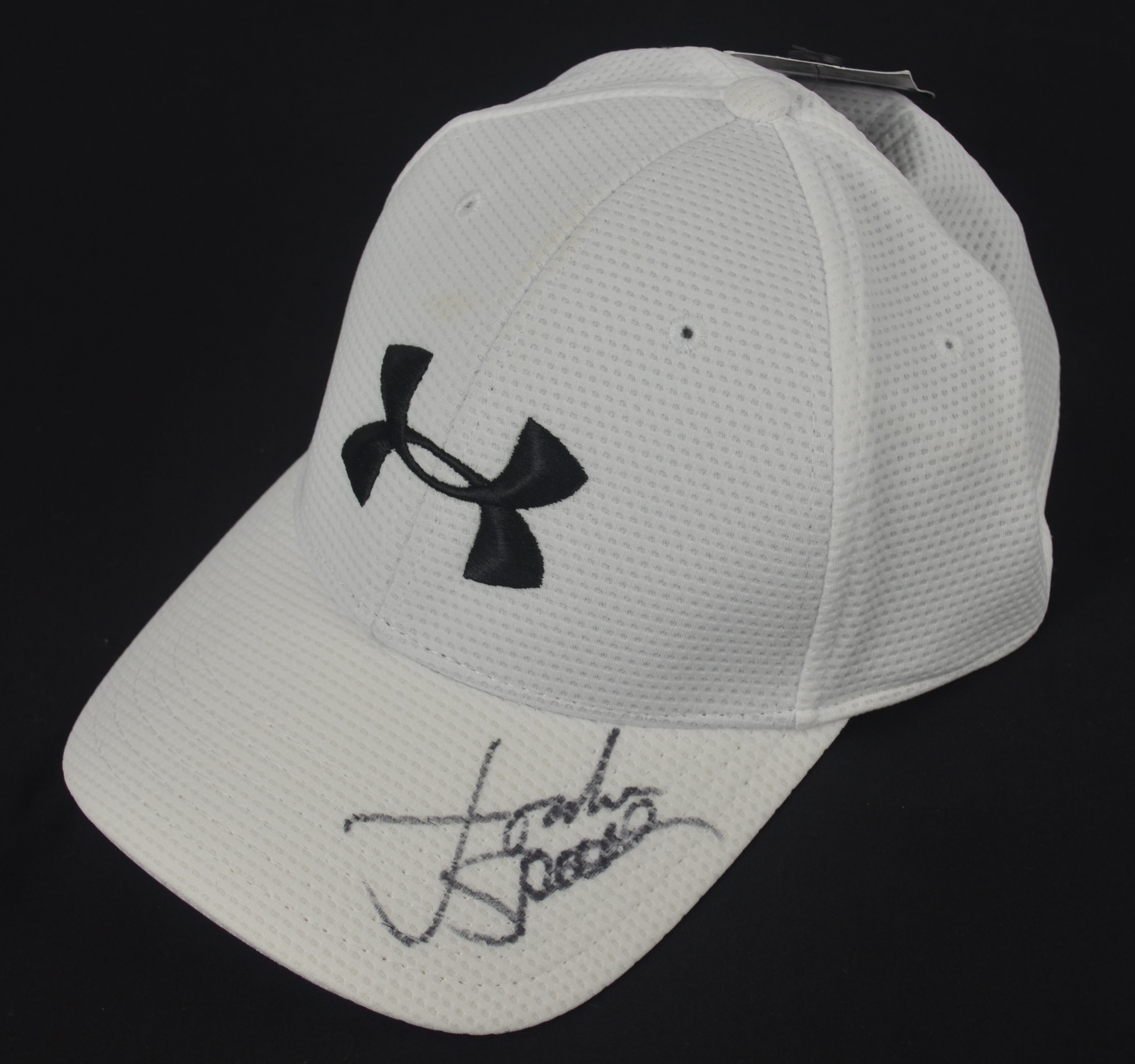 4ebb09327006 Lot Detail - Jordan Spieth Autographed Under Armor Hat